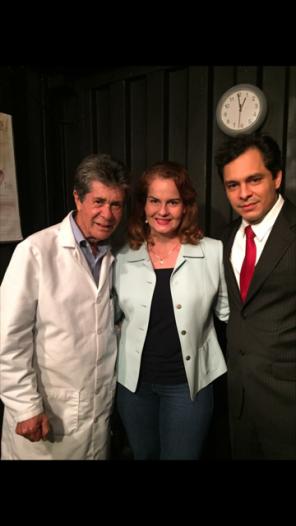 Eduardo Serrano y Pedro Pablo Porras