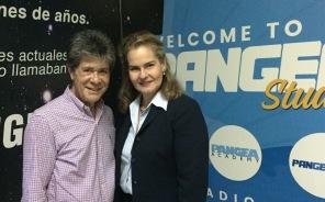 Con Eduardo Serrano.